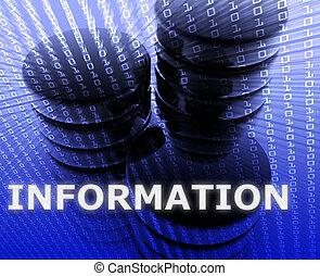 magazzino informazioni, dati