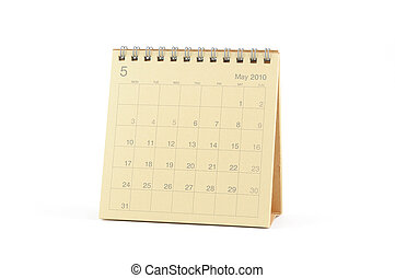 maggio, calendario, -, 2010