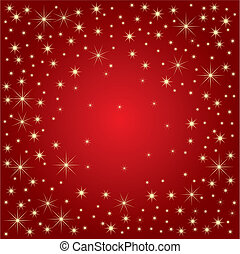 magia, stelle, (vector)