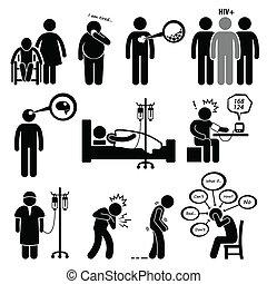 malattia, comune, malattie