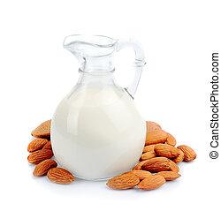 mandorla, latte