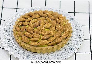 mandorla, torta
