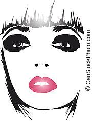 manifesto, arte, donna, moda, pop