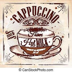 manifesto, cappuccino, kraft