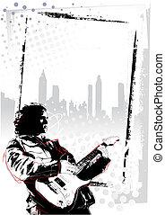 manifesto, chitarrista