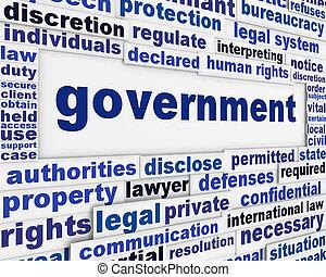 manifesto, concetto, governo
