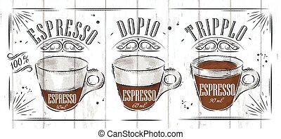 manifesto, espresso