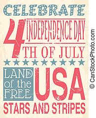 manifesto, giorno, indipendenza