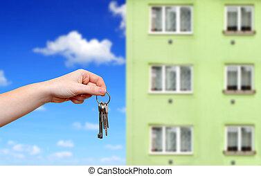 mano, chiavi