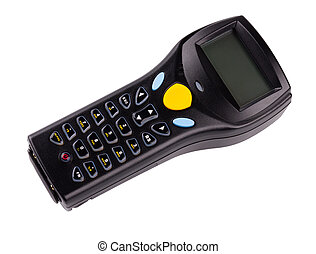 manuale, codici, sbarra, scanner, elettronico