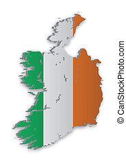 mappa, 2, irlanda