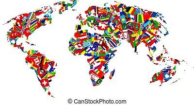 mappa, bandiera