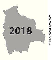 mappa, bolivia, 2018