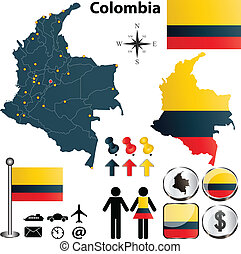 mappa, colombia