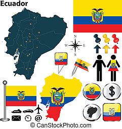 mappa, ecuador