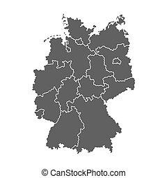mappa, germania