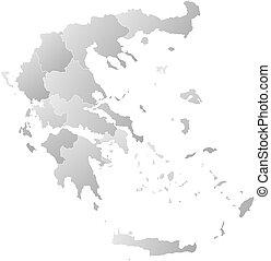 mappa, -, grecia