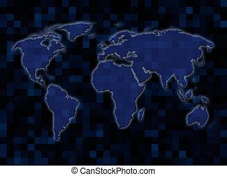 mappa, mondo digitale