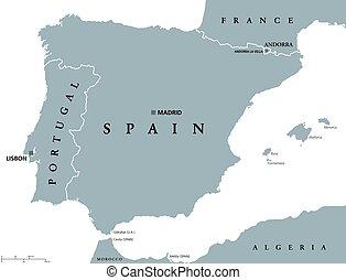 Portogallo Cartina Geografica Politica.Mappa Politico Portogallo Mappa Scaling Portogallo Capitale Nazionale Politico Illustrazione Fiumi Lakes La Canstock