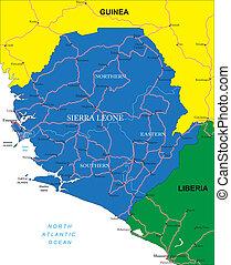 mappa, sierra leone