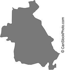 mappa, (syria), -, idlib