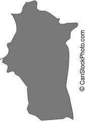 mappa, (syria), -, latakia