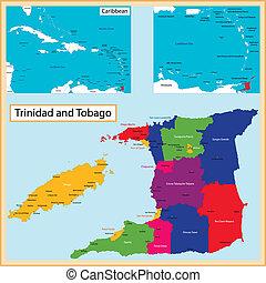 mappa, tobago, trinidad