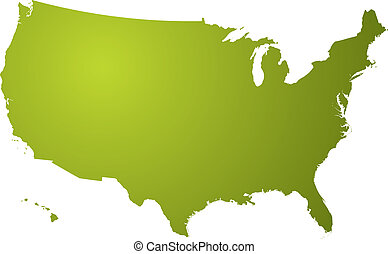 mappa, verde, ci