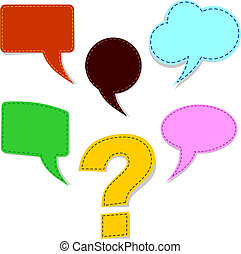 marchio, domanda, discorso, bolle