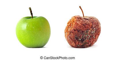 marcio, mela verde