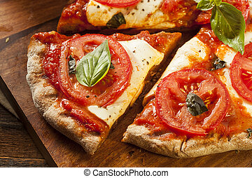 margarita, organico, casalingo, pizza