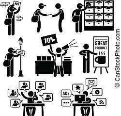 marketing, annuncio pubblicitario, strategia