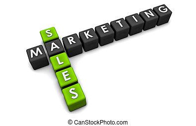 marketing, vendite