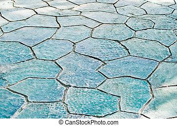 marmo, pavimentazione, textured
