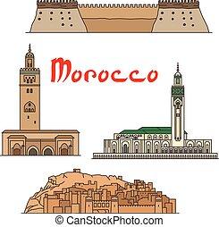 marocco, limiti, storico, sightseeings