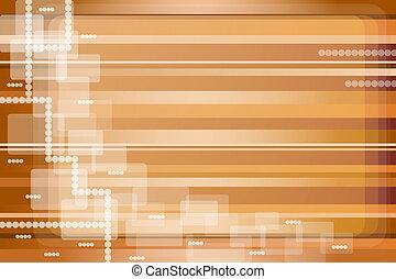 marrone, astratto, zebrato, oro