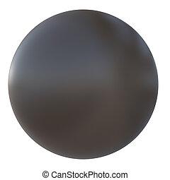 marrone, palla, plastica
