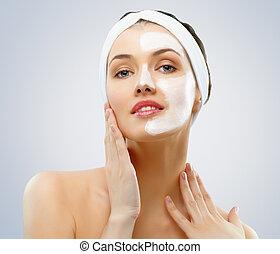 maschera, cosmetico