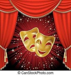 maschere teatrali