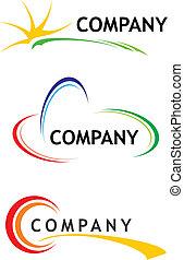 mascherine, logotipo, corporativo