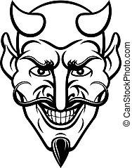 mascotte, diavolo, sport