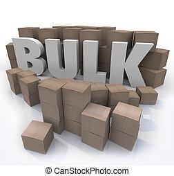 massa, prodotto, comprare, parola, molti, volume, scatole, quantità