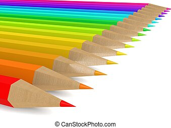 matita colore, linea