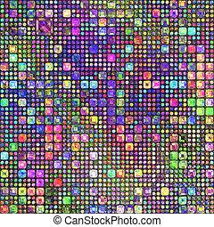 matita colore, patternl
