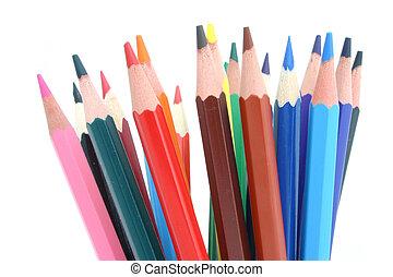 matite, colorato, #2