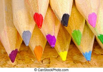 matite, colorato