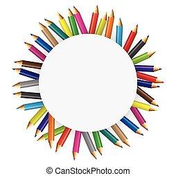 matite, colore, collezioni
