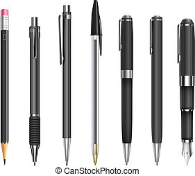 matite, penne