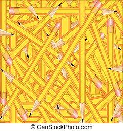 matite, quadrato, fondo
