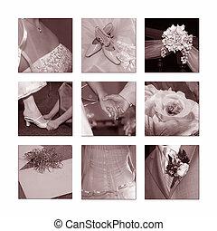 matrimonio, collage